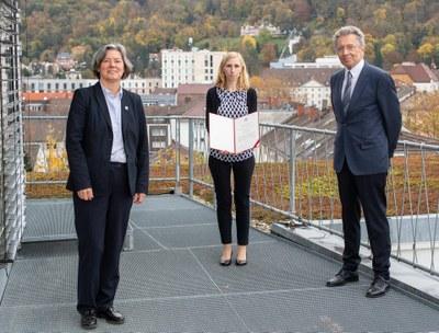 Helmut-Holzer-Preis 2020 für Nora Vögtle