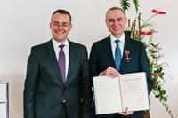 Bundesverdienstkreuz für Nikolaus Pfanner